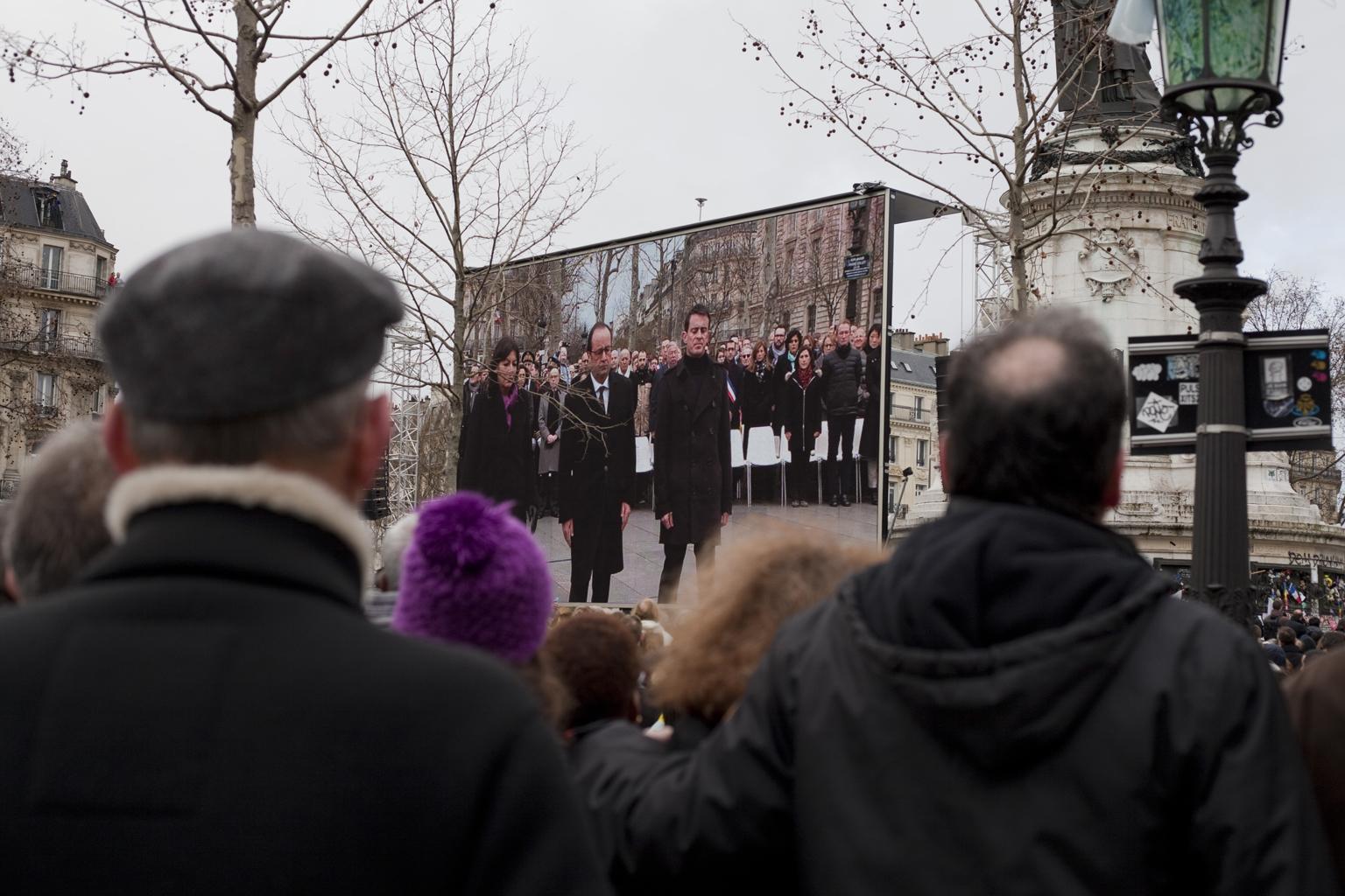 10.01.2016 – Commémoration pour les victimes des attentats