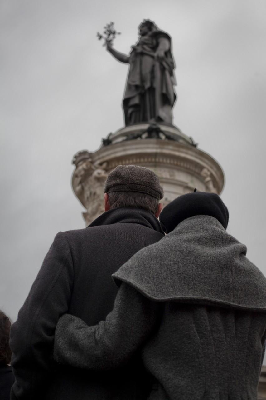 Hommage aux victimes des attentats - Janvier 2016 / Paris