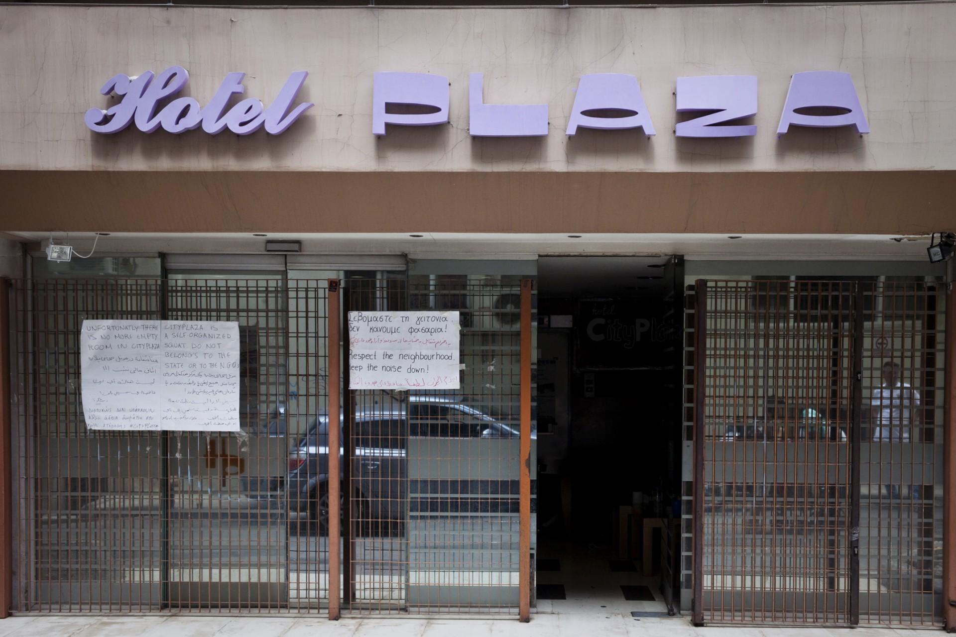 L'Hôtel City Plaza : un squat pas comme les autres