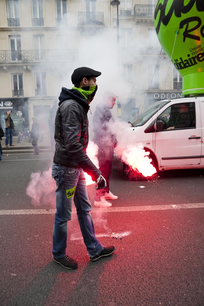 Manifestation contre la loi Travail - Avril 2016 / Paris