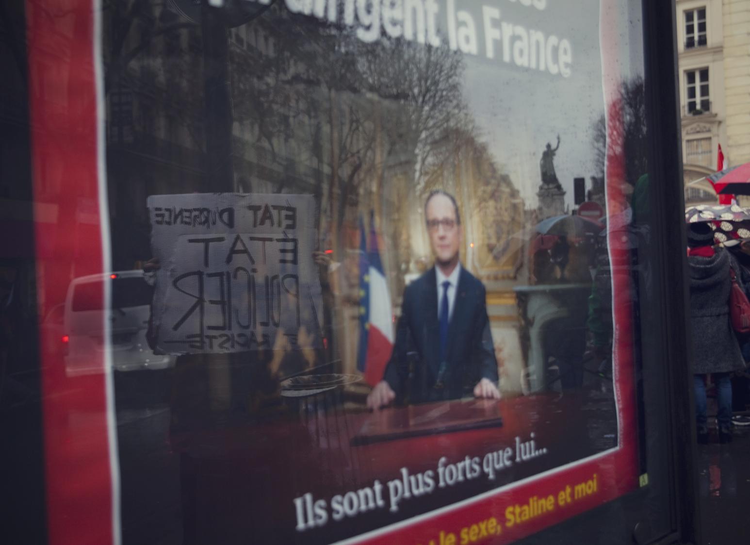 Manifestation contre l'état d'urgence - Janvier 2016 / Paris