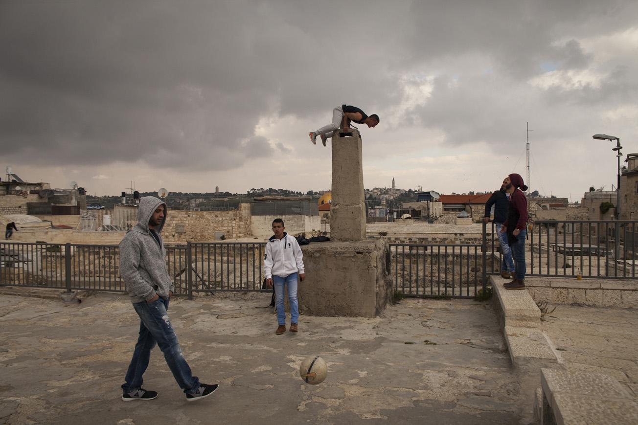 Sur les toits de Jérusalem - Mars 2016