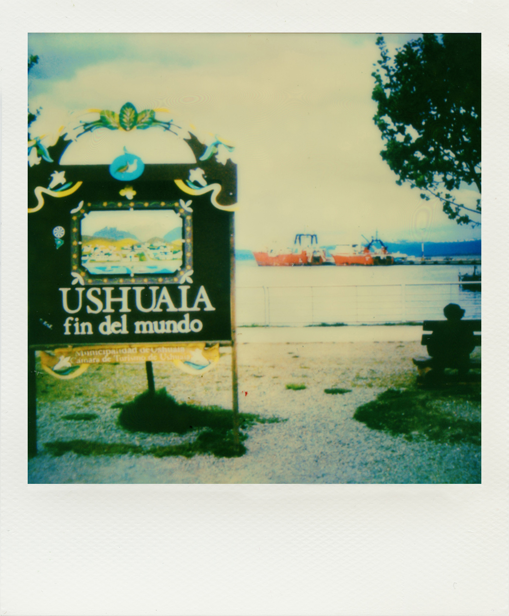 Argentina Ushuaia polaroid Copyright Estelle Car