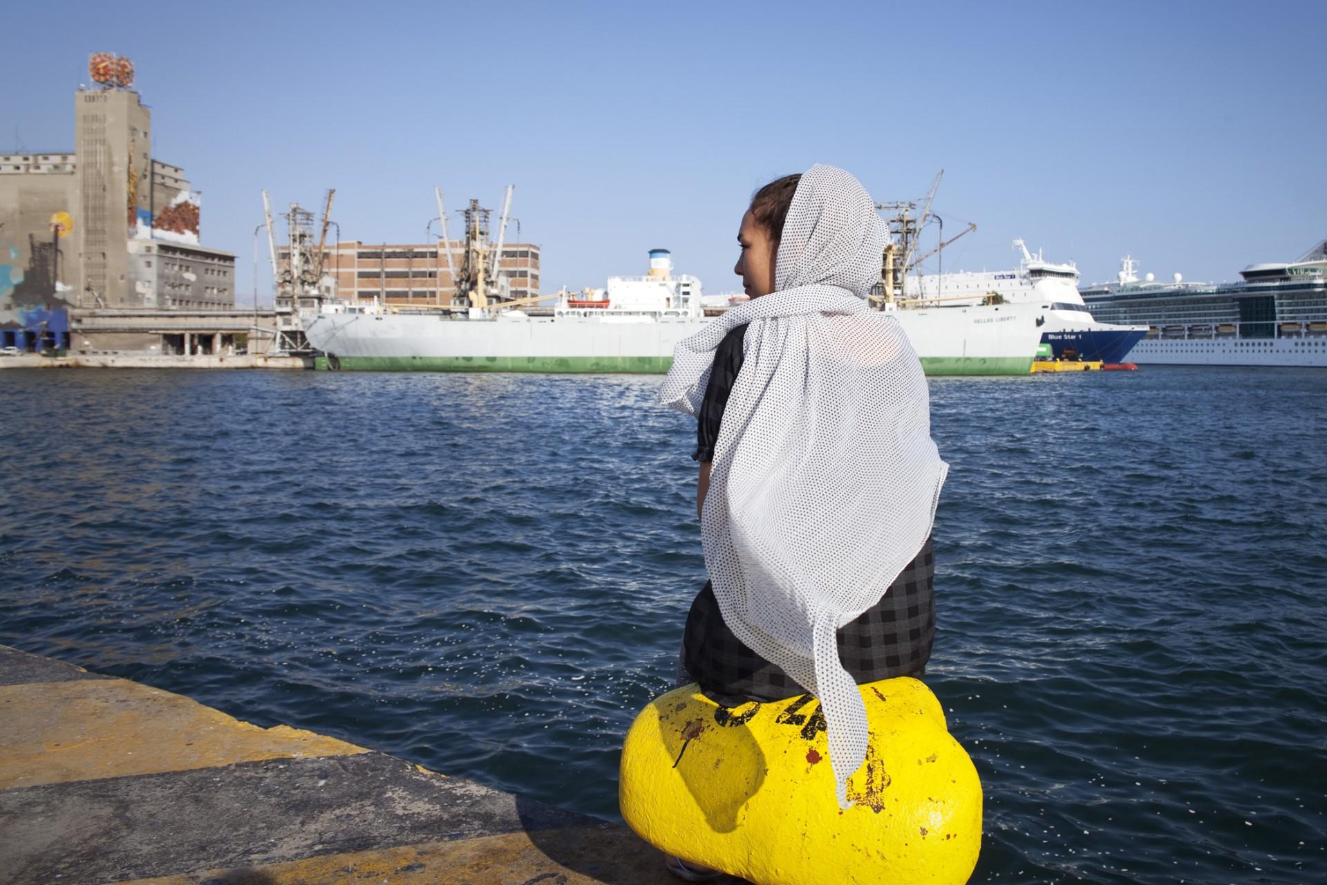 Port du Pirée, juin 2016