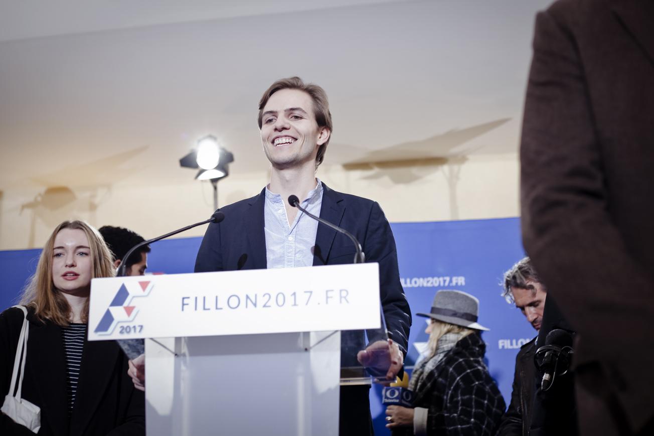 Résultats des primaires de la Droite - Election de François Fillon - Novembre 2017 / Paris
