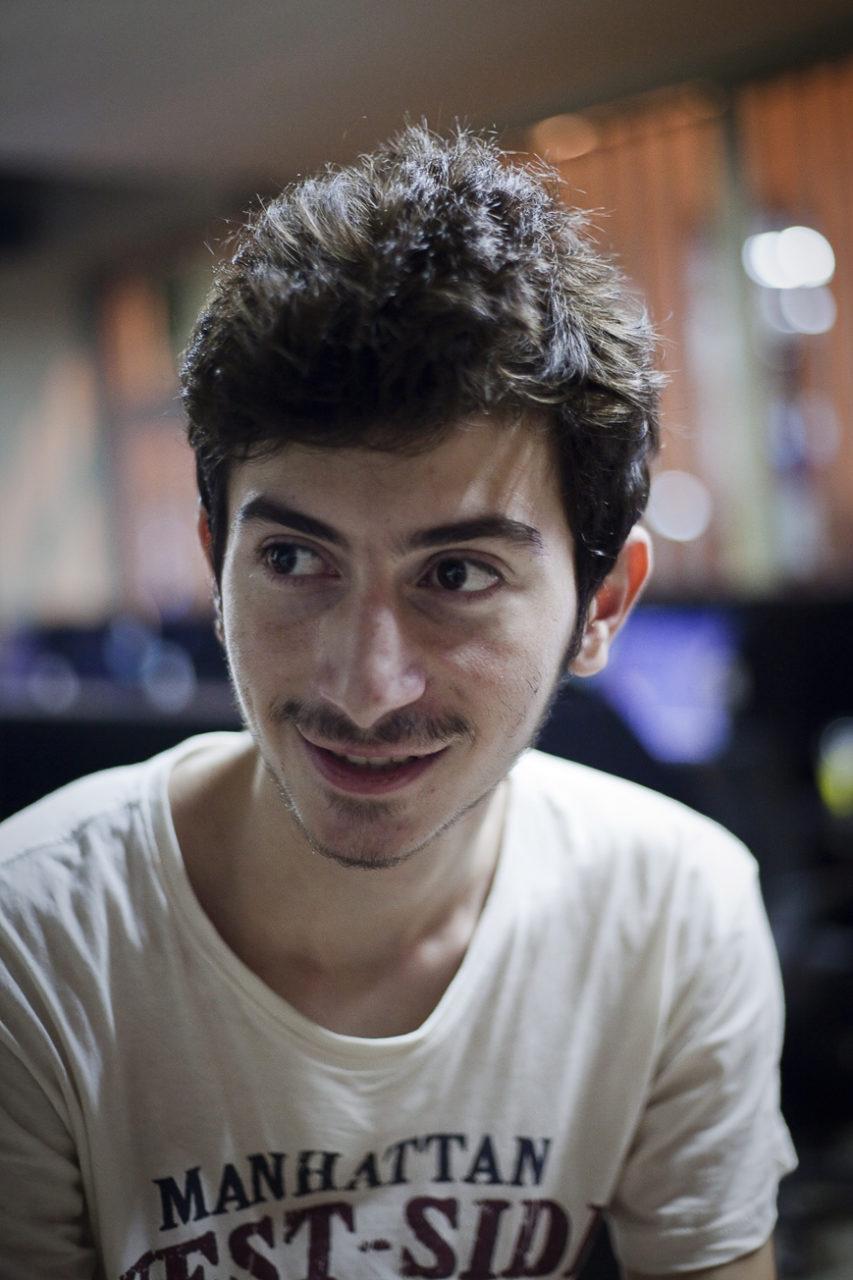 Obida, réfugié syrien